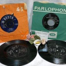 Discos de vinilo: AÑO 1963-65. LOTE DE CUATRO DISCOS PARLOPHONE, VARIADOS. . Lote 56333916
