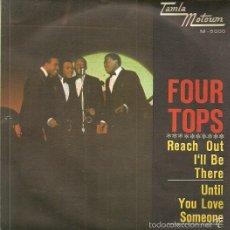 Discos de vinilo: FOUR TOPS SINGLE SELLO TAMLA-MOTOWN AÑO 1966 EDITADO EN ESPAÑA. Lote 56334547