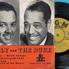 Discos de vinilo: BILLY AND THE DUKE (BILLY ECKSTINE & DUKE ELLINGTON): CARAVAN / MOOD INDIGO / SOPHISTICATED LADY.... Lote 56337228