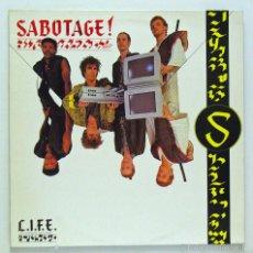 Discos de vinilo: SABOTAGE - 'L.I.F.E.' (MAXI SINGLE. ORIGINAL 1986) - PEDIDO MÍNIMO 8€. Lote 56342250