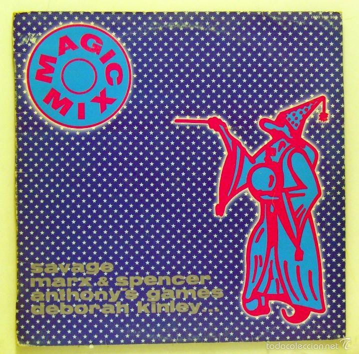 VARIOS - 'MAGIC MIX' (MAXI SINGLE VINILO) (Música - Discos de Vinilo - EPs - Disco y Dance)