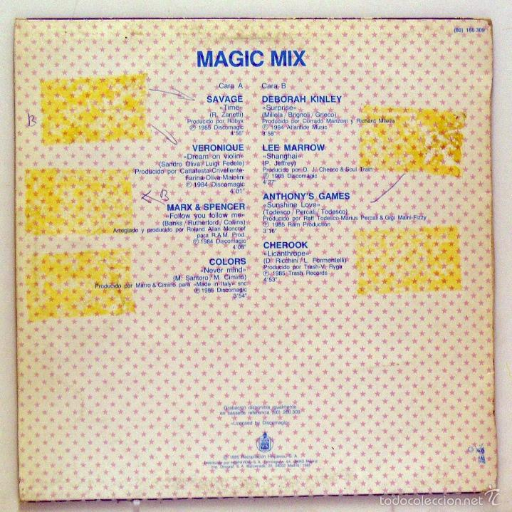 Discos de vinilo: Varios - Magic Mix (Maxi Single Vinilo) - Foto 2 - 56342488