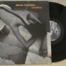 Discos de vinilo: - DANZA INVISIBLE - CATALINA - TWINS - 1990 -. Lote 56343124