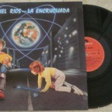 Discos de vinilo: LP MIGUEL RIOS - LA ENCRICIJADA- LP - POLYGRAM - 1984 -. Lote 56346933