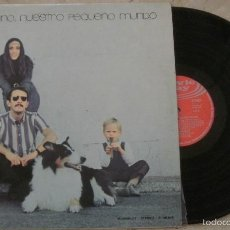 Discos de vinilo: LP NUESTRO PEQUEÑO MUNDO - UNO X UNO - MOVIEPLAY - 1970 -. Lote 56347620