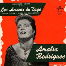 """Discos de vinilo: AMALIA RODRIGUES - EP VINILO 7"""" - 4 TEMAS - EDICIÓN DE FRANCIA Y HOLANDA - COLUMBIA. Lote 56348291"""