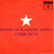 """Discos de vinilo: VICENTE FELIÚ + ALEJANDRO GARCÍA - SINGLE VINILO 7"""" - EDITADO EN CUBA - AREITO 1973. Lote 56348939"""