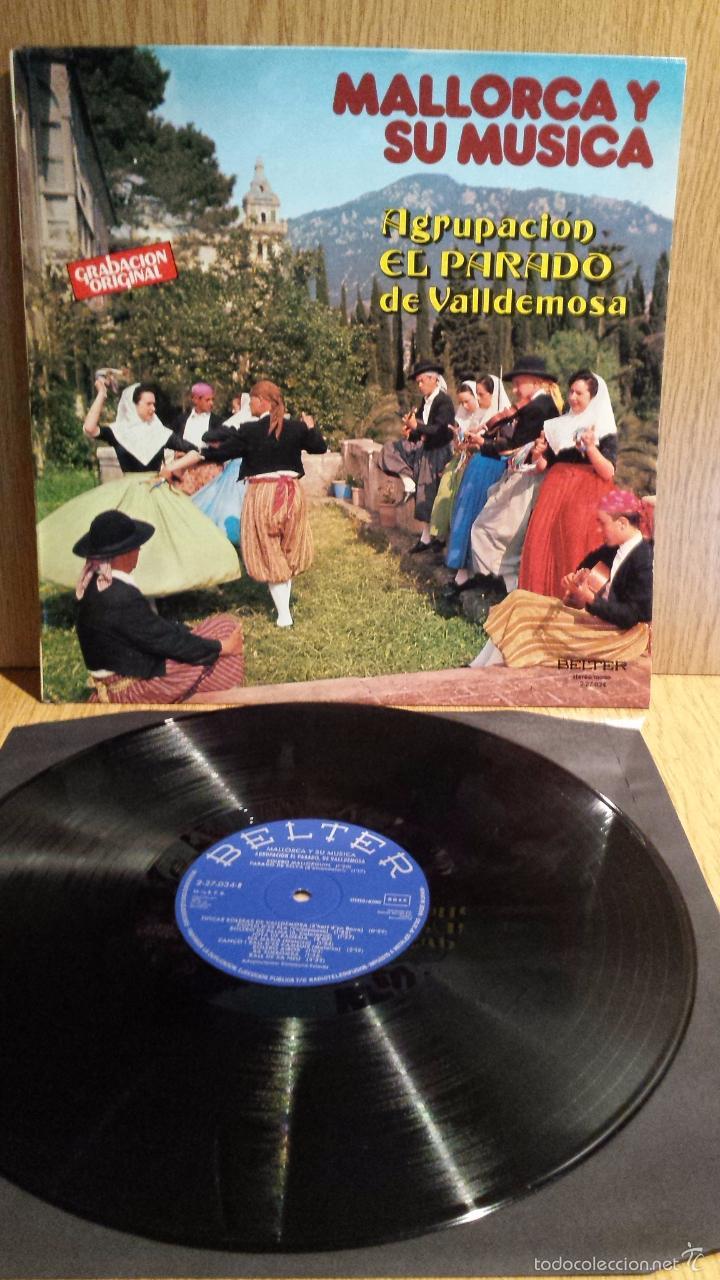 MALLORCA Y SU MÚSICA. AGRUPACIÓN EL PARADO DE VALLDEMOSA. LP / BELTER - 1979. MBC. ***/*** (Música - Discos - LP Vinilo - Country y Folk)