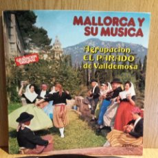 Discos de vinilo: MALLORCA Y SU MÚSICA. AGRUPACIÓN EL PARADO DE VALLDEMOSA. LP / BELTER - 1979. MBC. ***/***. Lote 56350638