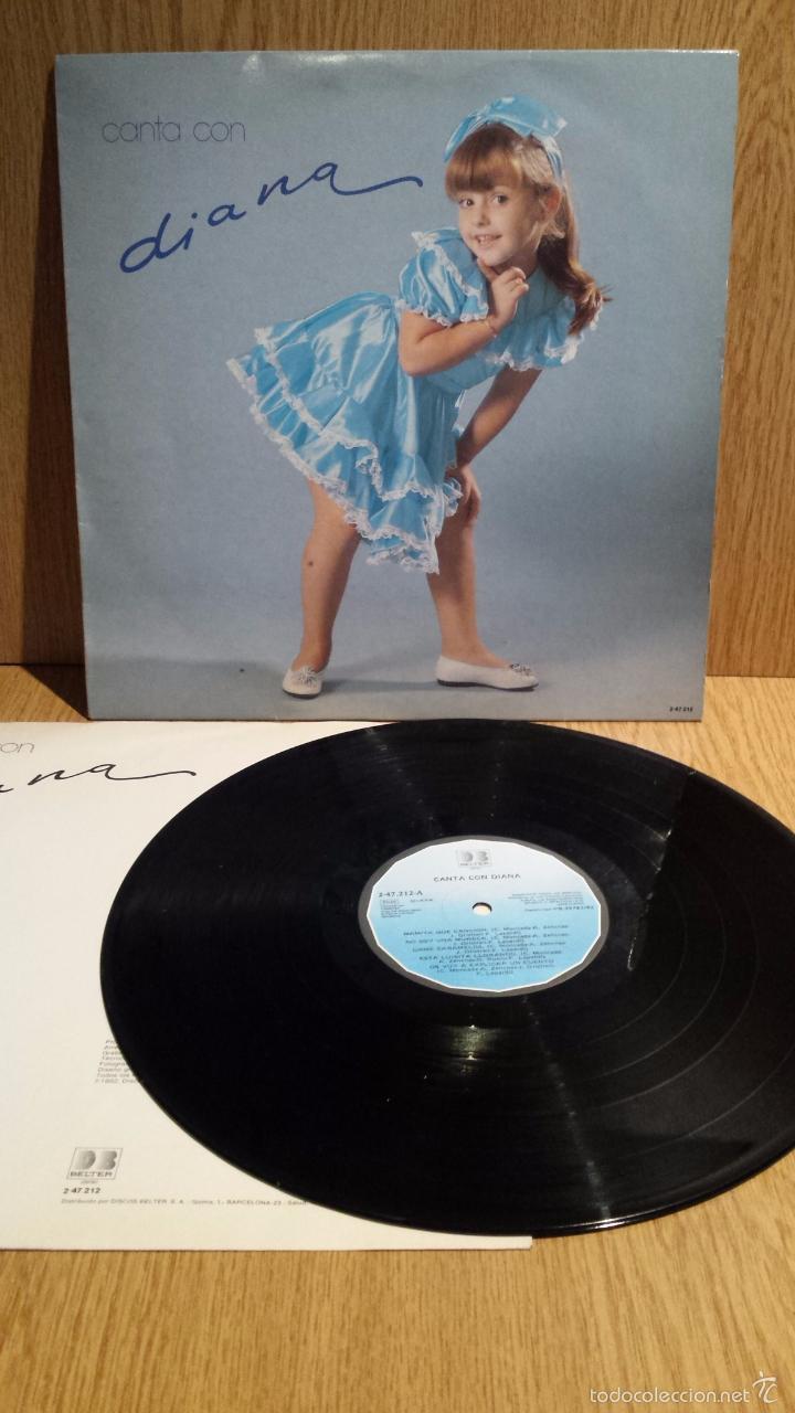 CANTA CON DIANA. LP / BELTER - 1982. MUY BUENA CALIDAD. ***/*** (Música - Discos - LPs Vinilo - Música Infantil)