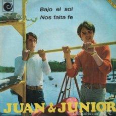 Discos de vinilo: JUAN Y JUNIOR LOS BRINCOS NOS FALTA FE - SINGLE 45 - SPANISH FREAKBEAT 1967. Lote 57197112