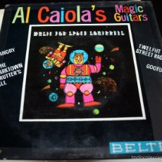 Discos de vinilo: AL CAIOLA'S MAGIC GUITARS - MUSIC FOR SPACE SQUIRRELS - EP. Lote 56368279