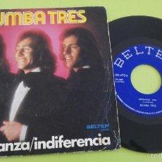 Discos de vinil: RUMBA TRES - ESPERANZA / INDIFERENCIA - SINGLE BELTER 1974 . Lote 56369626