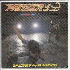 Discos de vinilo: PANZER SG CHAPA 1983 PROMO GALONES DE PLASTICO/ SUBE UN ESCALON ROCK DURO HEAVY METAL OBUS. Lote 56373379