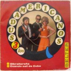 Discos de vinilo: LOS 3 SUDAMERICANOS - GIBRALTAREÑA + CUANDO SALI DE CUBA - SINGLE - BELTER 1967 SPAIN. Lote 56373489