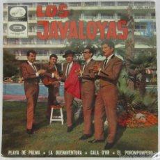 Discos de vinilo: LOS JAVALOYAS - PLAYA DE PALMA + 3 - EP - LA VOZ DE SU AMO 1965 SPAIN . Lote 56373569