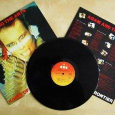 Discos de vinilo: ADAM AND THE ANTS - KINGS OF THE WILD FRONTIER - VINILO ORIGINAL 1ª EDICION 1980/1981. Lote 56376159
