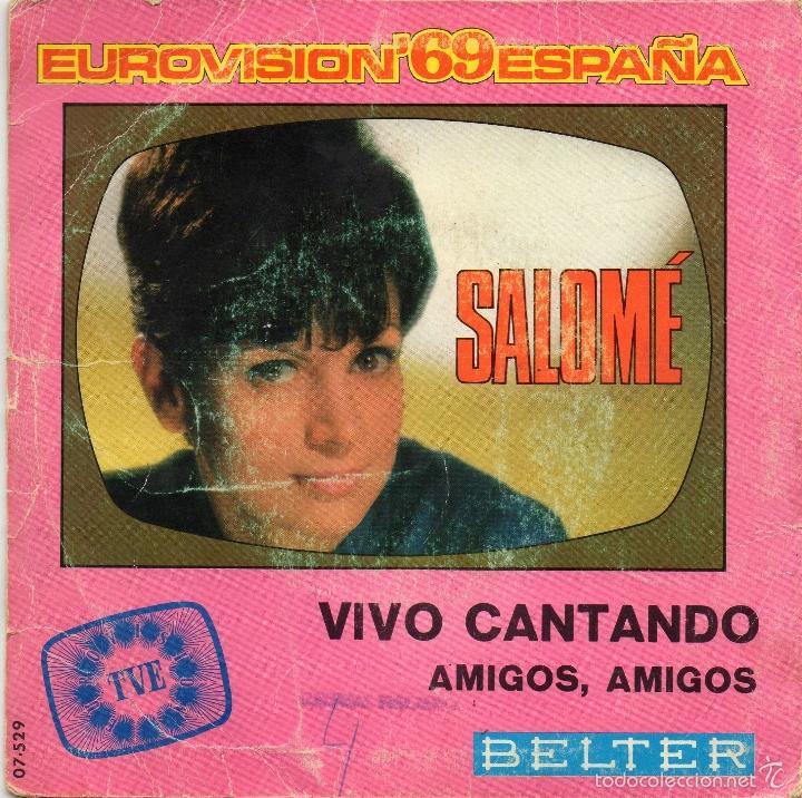 Discos de vinilo: SALOME - VIVO CANTANDO - SINGLE - Foto 2 - 56376272