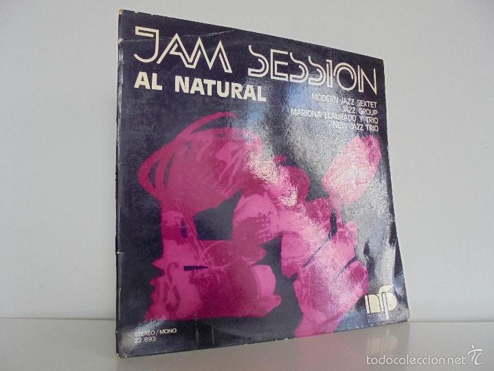 JAM SESSION AL NATURAL. MARIONA LLAURANO Y TRIO. NURIA FELIU PRODUCCIONS 1974. VER FOTOGRAFIAS. (Música - Discos - Singles Vinilo - Jazz, Jazz-Rock, Blues y R&B)