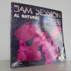 Discos de vinilo: JAM SESSION AL NATURAL. MARIONA LLAURANO Y TRIO. NURIA FELIU PRODUCCIONS 1974. VER FOTOGRAFIAS.. Lote 56376712