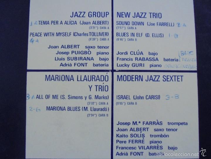 Discos de vinilo: JAM SESSION AL NATURAL. MARIONA LLAURANO Y TRIO. NURIA FELIU PRODUCCIONS 1974. VER FOTOGRAFIAS. - Foto 7 - 56376712