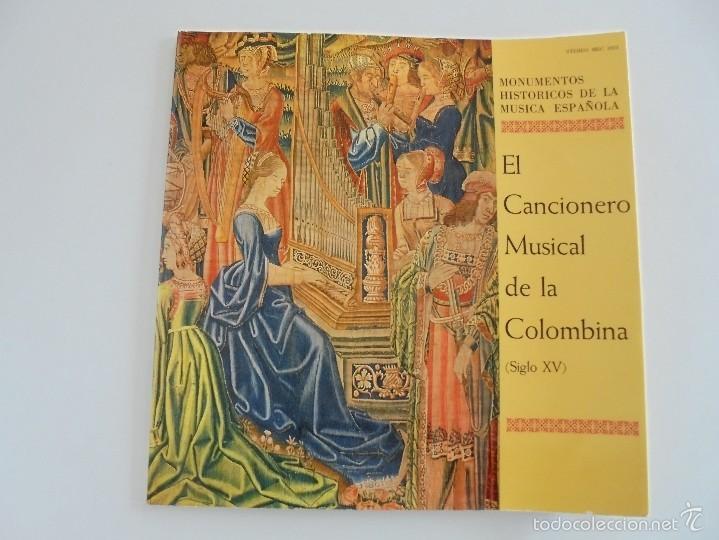 Discos de vinilo: MONUMENTOS HISTORICOS DE LA MUSICA ESPAÑOLA. 3 EJEMPLARES. VER FOTOGRAFIAS ADJUNTAS. - Foto 3 - 56377271