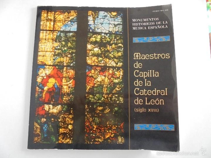 Discos de vinilo: MONUMENTOS HISTORICOS DE LA MUSICA ESPAÑOLA. 3 EJEMPLARES. VER FOTOGRAFIAS ADJUNTAS. - Foto 11 - 56377271