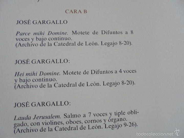Discos de vinilo: MONUMENTOS HISTORICOS DE LA MUSICA ESPAÑOLA. 3 EJEMPLARES. VER FOTOGRAFIAS ADJUNTAS. - Foto 14 - 56377271