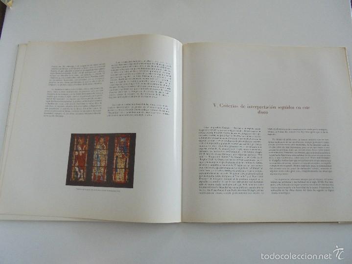 Discos de vinilo: MONUMENTOS HISTORICOS DE LA MUSICA ESPAÑOLA. 3 EJEMPLARES. VER FOTOGRAFIAS ADJUNTAS. - Foto 17 - 56377271
