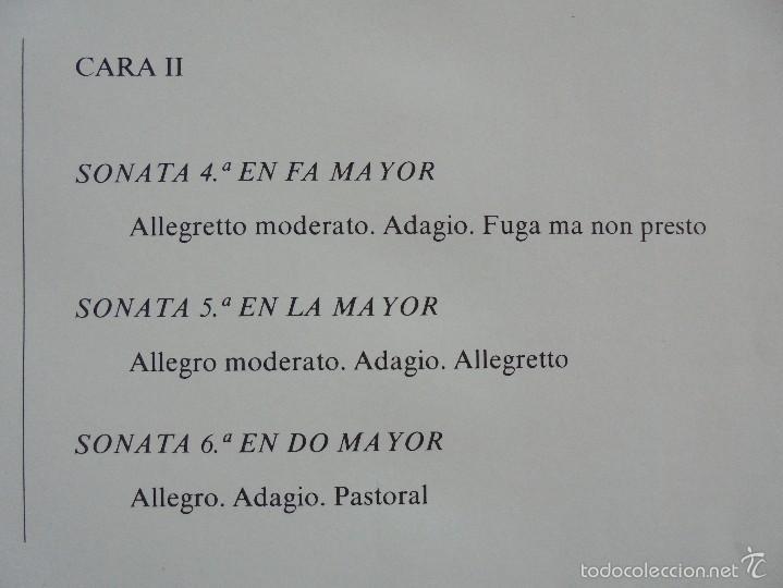 Discos de vinilo: MONUMENTOS HISTORICOS DE LA MUSICA ESPAÑOLA. 3 EJEMPLARES. VER FOTOGRAFIAS ADJUNTAS. - Foto 24 - 56377271