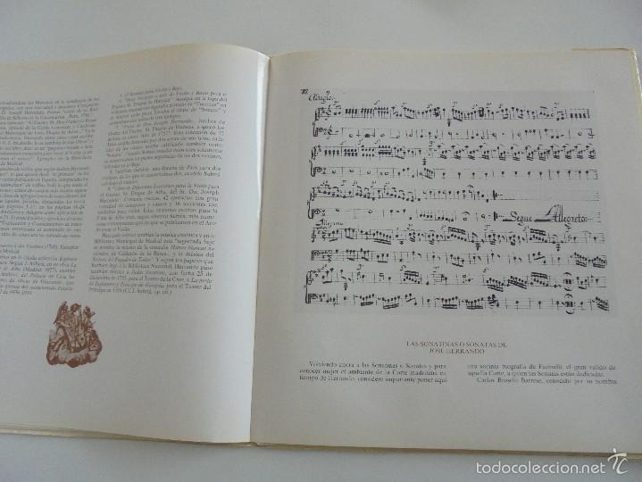 Discos de vinilo: MONUMENTOS HISTORICOS DE LA MUSICA ESPAÑOLA. 3 EJEMPLARES. VER FOTOGRAFIAS ADJUNTAS. - Foto 27 - 56377271
