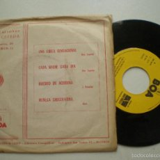 Discos de vinilo: CONJUNTO LOS CORALES - UNA CHICA SENSACIONAL +3 - EP BOA AUDIO & VIDEO 1975 // DIEZ CEPEDA. Lote 56380137