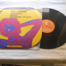 Discos de vinilo: THE LOVERS DISCOMANIA MEDLEY RCA SPCO7098 SPAÑA 1977. Lote 56380171
