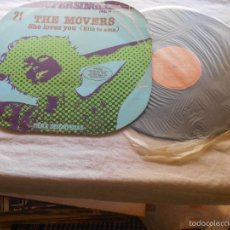 Discos de vinilo: THE MOVERS SHE LOVES YOU RCA PC9202 ESPAÑA 1978. Lote 56387994