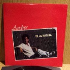 Discos de vinilo: ANDRES. ES LA RUTINA. LP / REDIM - 1983. / CALIDAD LUJO. ****/****. Lote 56389330