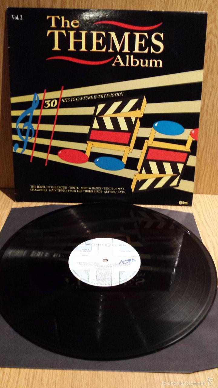 THE THEMES ALBUM. VOL. 2 / LP / ASPA - 1988 / CALIDAD LUJO. ****/**** (Música - Discos - LP Vinilo - Bandas Sonoras y Música de Actores )
