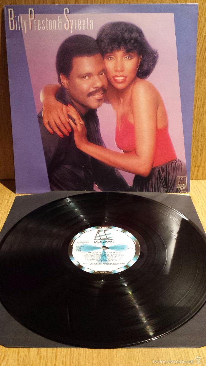 BILLY PRESTON & SYREETA. LP / MOTOWN-BELTER - 1981 / CALIDAD LUJO. ****/**** (Música - Discos - LP Vinilo - Funk, Soul y Black Music)