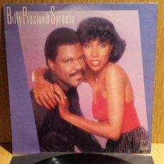 Discos de vinilo: BILLY PRESTON & SYREETA. LP / MOTOWN-BELTER - 1981 / CALIDAD LUJO. ****/****. Lote 56390049