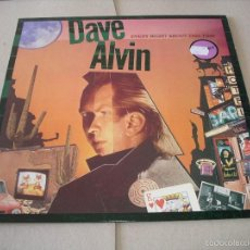 Discos de vinilo: DAVE ALVIN LP EVERY NIGHT ABOUT THIS TIME DEMON RECORDS ORIGINAL UK 1987 + FUNDA. Lote 56391088