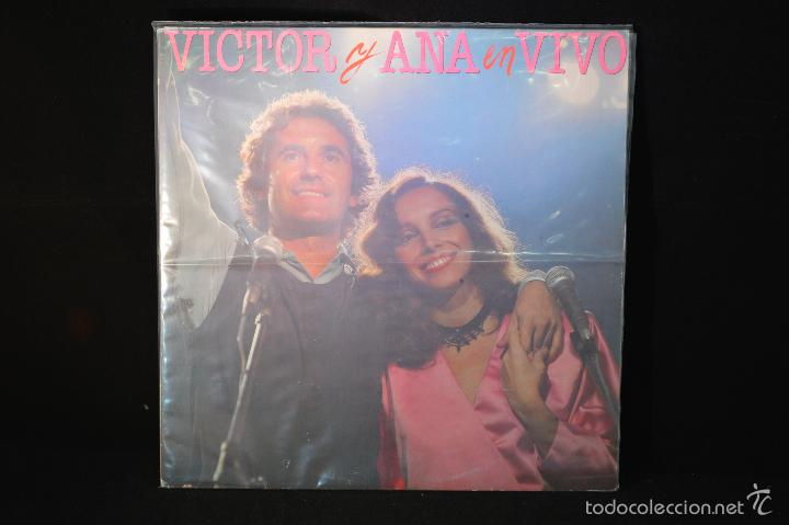 ANA BELEN Y VICTOR MANUEL - VICTOR Y ANA EN VIVO - 2 LP (Música - Discos - LP Vinilo - Solistas Españoles de los 70 a la actualidad)