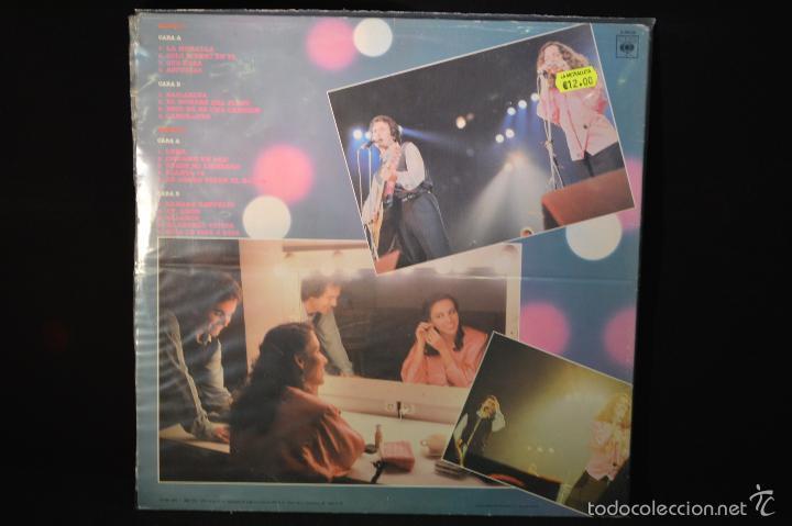Discos de vinilo: ANA BELEN Y VICTOR MANUEL - VICTOR Y ANA EN VIVO - 2 LP - Foto 2 - 56392121
