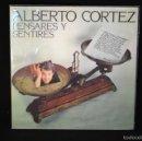 Discos de vinilo: ALBERTO CORTEZ - PENSARES Y DECIRES - LP. Lote 56394748