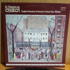 Disques de vinyle: ENGLISH CHAMBER ORCHESTRA / ROS MARBA. EL MADRID DE CHUECA. LP / ZAMBRA-1978 / LUJO. ****/****. Lote 56395076