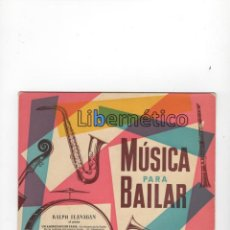 Discos de vinilo: RALPH FLANAGAN Y SU ORQUESTA. MÚSICA PARA BAILAR. SELLO: LA VOZ DE SU AMO, AÑOS 60. Lote 56398307