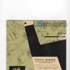 Discos de vinilo: YVETTE HORNER CAMPEONA DEL MUNDO DE ACORDEÓN Y SU CONJUNTO MUSETTE. SELLO: PATHÉ AÑOS 60. Lote 56398527