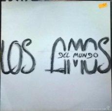 Discos de vinilo: LOS AMOS DEL MUNDO-LOS AMOS DEL MUNDO, INTERMITENTE-INTLP 003. Lote 140351004