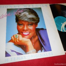 Discos de vinilo: DIONNE WARWICK WITH LOVE 16 TEMAS ORIGINALES LP 1983 K-TEL SPAIN ESPAÑA. Lote 56402169