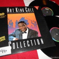 Discos de vinilo: NAT KING COLE COLLECTION 30 EXITOS EN VERSION ORIGINAL EN ESPAÑOL 2LP 1990 CAPITOL SPAIN ESPAÑA GATE. Lote 56402695