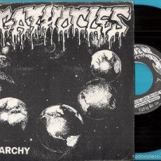 Discos de vinilo: AGATHOCLES: THE TRUTH BEGINS WHERE MAN STOPS TO THINK / SENTIMENTAL HYPOCRISY / KILL YOUR FUCKING ID. Lote 56403459