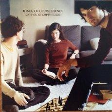 Discos de vinilo: LP KINGS OF CONVENIENCE RIOT ON AN EMPTY STREET VINILO. Lote 144465922